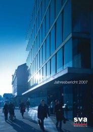 Jahresbericht 2007 (PDF, 657 KB) - SVA Aargau
