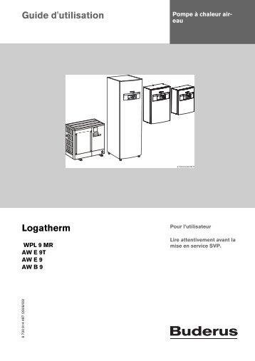 Guide d'utilisation Logatherm - Buderus