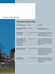Calendario degli eventi - Siemens Schweiz AG