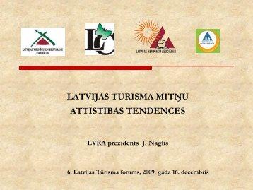 Latvijas tūrisma mītņu attīstības tendences