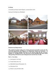 Leicester, South Wigston, St Mary - Diocese of Nottingham
