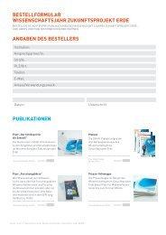 Bestellformular für Print-Publikationen und Give-aways (pdf)