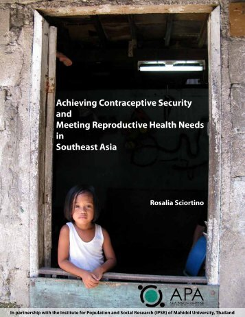 Achieving Contraceptive Security and Meeting ... - Youth Sextion