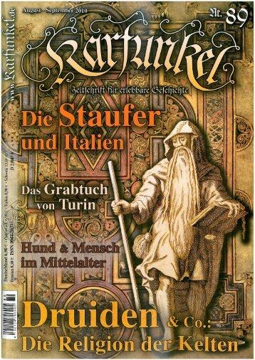 Karfunkel – Zeitschrift für erlebbare Geschichte Nr. 89 - Alauni