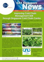 Improving Cold Chain Management Skill through ... - GS1 Singapore