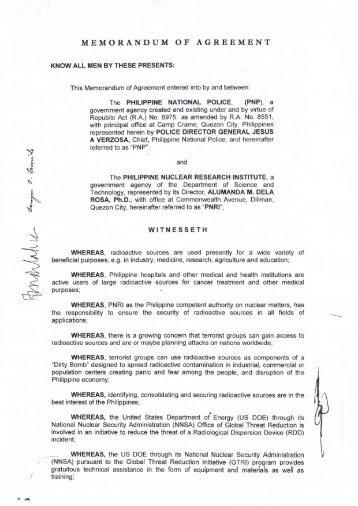 Generic Moa Memorandum Of Agreement Kruger2canyons