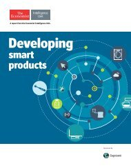 EIU-Cognizant - Developing smart products