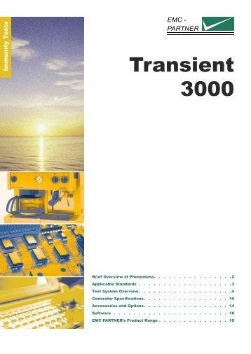 Transient 3000 - EMCIA