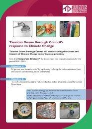 Consultation on Corporate Strategy 2010-2013 - Taunton Deane ...