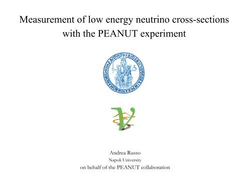 Measurement of low energy neutrino cross-sections with the ... - opera