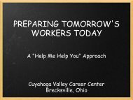 PREPARING TOMORROW'S WORKERS TODAY - NCLA