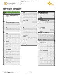 Page 1 Datensatz GEKID Mindestdatensatz GEKID (Spezifikation ...