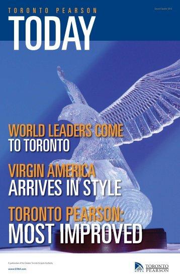 Eagle Award - Toronto Pearson International Airport