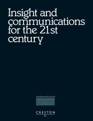 Annual Report PDF - Creston