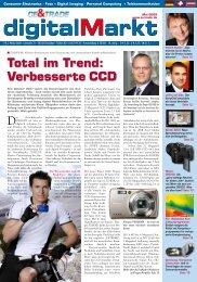 Total im Trend: Verbesserte CCD