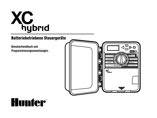 Batteriebetriebene Steuergeräte - Hunter Industries