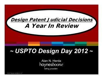 USPTO-Judicial-Decisions-Review.pdf - Haynes and Boone, LLP