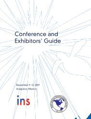 Conference and Exhibitors' Guide - International Neuromodulation ...
