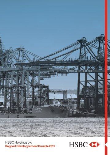 Rapport Développement Durable 2011 - HSBC ... - e-accessibility