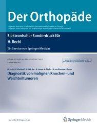 Diagnostik von malignen Knochen - Klinik und Poliklinik für ...