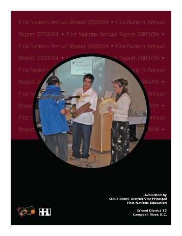 2003-2004 SD72 Aboriginal Education Annual Report