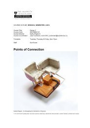 Topic Outline for Sue Evans's Design 2 Studio PDF
