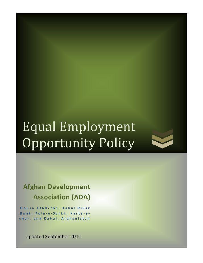 equal education essay
