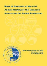 Book of Abstracts of the  61st Annual Meeting of the European ...