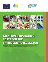 Taxation and Operating Costs for the Caribbean Hotel Sector