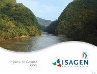 Informe de Gestión 2009 - Isagen