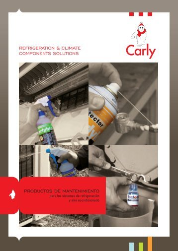 refrigeration & climate components solutions productos de ... - Carly