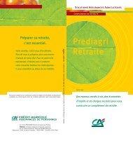 Prediagri Retraite - Crédit agricole Centre-est