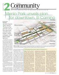 Menlo Park unveils plan for downtown, El Camino - Almanac News