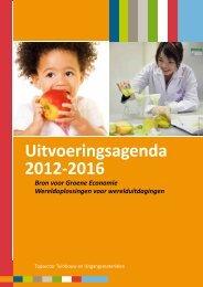 Uitvoeringsagenda 2012-2016 - Investeren in topsectoren