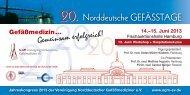 Programm - Vereinigung Norddeutscher Gefäßmediziner eV