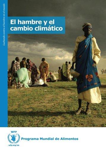 El hambre y el cambio climático