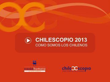 Estudio Chilescopio 2013 - Universidad del Desarrollo