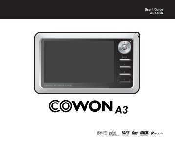 Download - Cowon