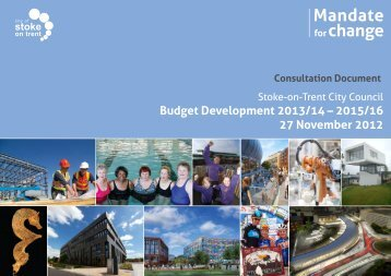 Budget Development 2013/14 - Stoke-on-Trent City Council