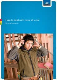 How to deal with noise at work - ACC