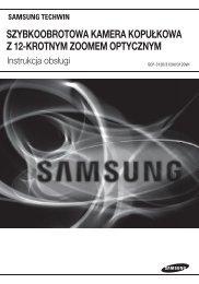 szybkoobrotowa kamera kopułkowa z 12-krotnym ... - Samsung CCTV