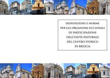 Disposizioni e Norme per gli Organismi del ... - Diocesi di Brescia