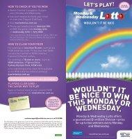Monday & Wednesday Lotto