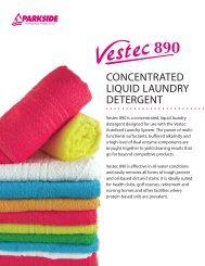 concentrated liquid laundry detergent - Flexo Products Ltd.