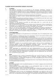 Algemene inkoopvoorwaarden Apeldoorn - TenderGuide