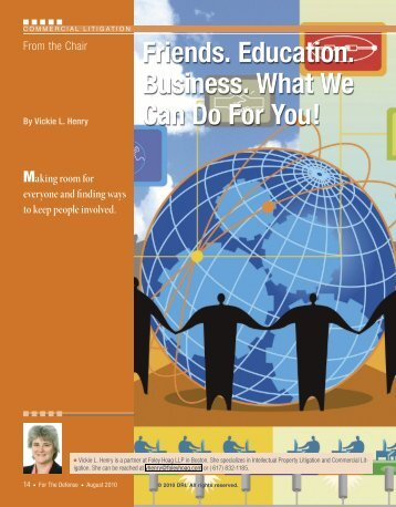 Friends. Education. Business. What We Can Do For You! - DRI Today