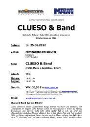 CLUESO & Band - Krasscore