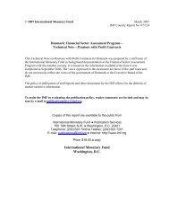 Denmark: Financial Sector Assessment Program, Technical ... - IMF