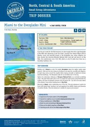 Click here to download pdf trip dossier - Adventure holidays
