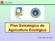 Plan Estratégico de Agricultura Ecológica - sinab